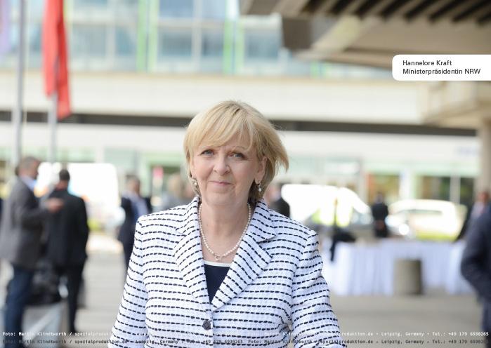 Hannelore Kraft, Ministerpräsidentin NRW (Foto: © Martin Klindtworth)