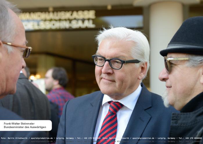 Frank-Walter Steinmeier, Bundesminister des Auswärtigen (Foto: © Martin Klindtworth)